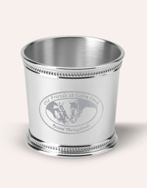 Old Friends of Cabin Creek - Sterling Silver Mint Julep Jigger