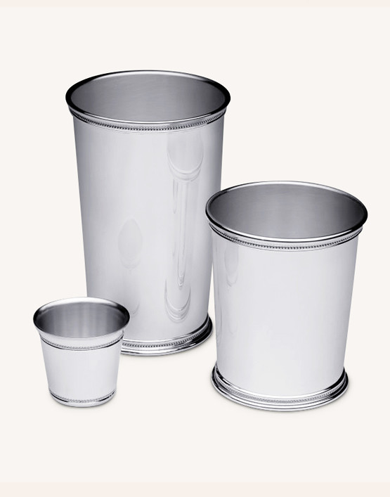 STERLING SILVER MINT JULEP CUPS