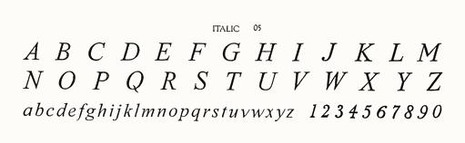 ITALIC 05