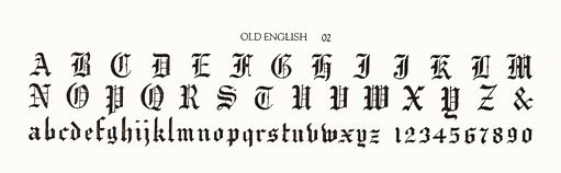OLD ENGLISH 02