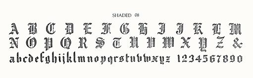 SHADED 08