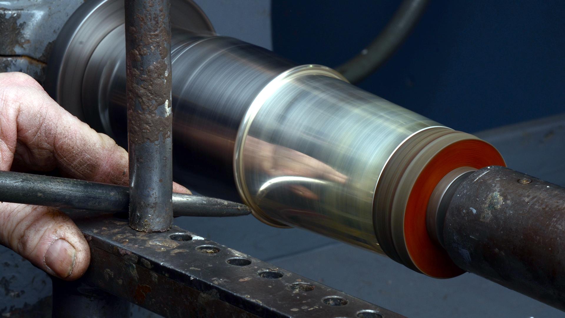 Spinning Sterling Silver