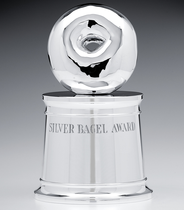 THE SILVER BAGEL AWARD
